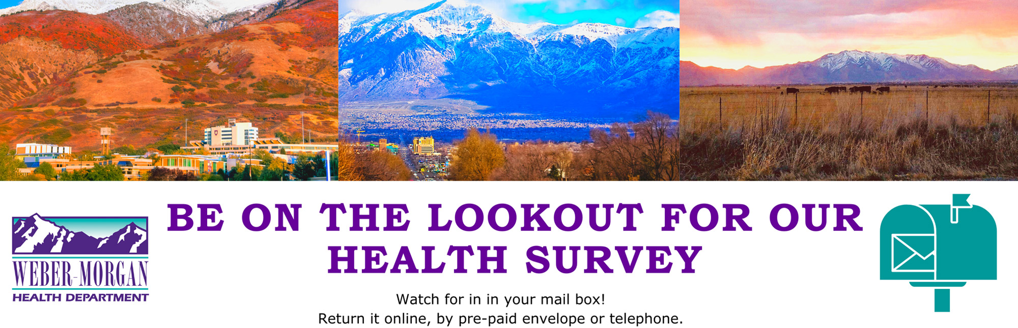 Be on the Lookout for our Health Survey