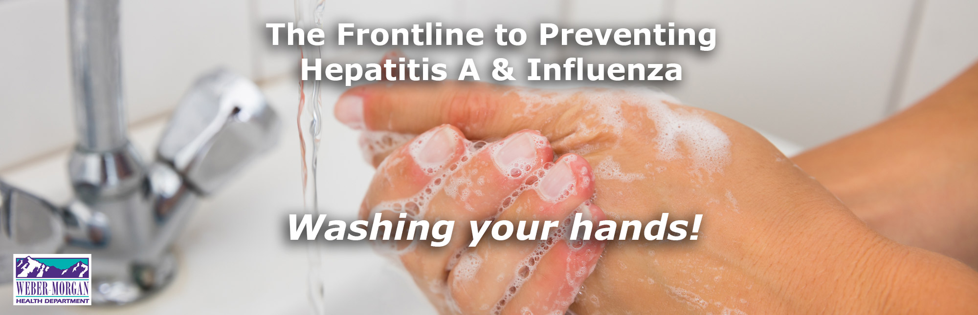 Washing Your Hands prevents Hepatitis A & Influenza image