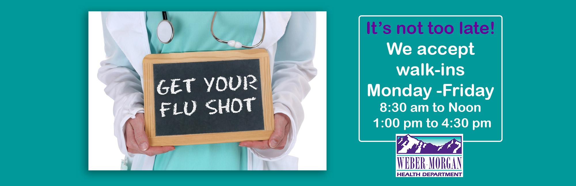 Get Your Flu Shot image